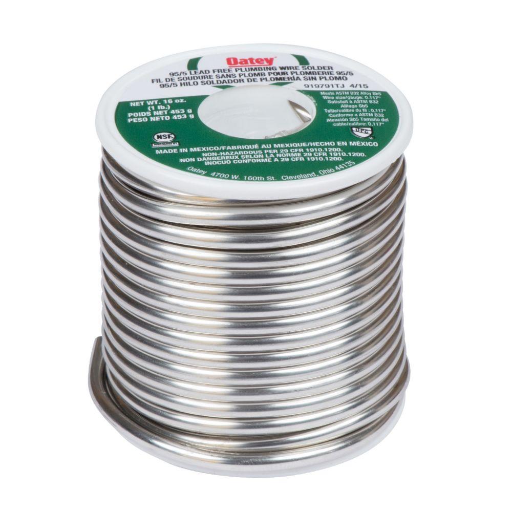 1 Lb 95/5 Wire Solder 22017 10-Per