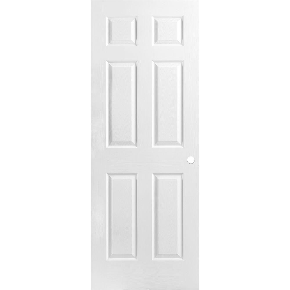 Masonite 30x80x1-3/8 6 Panel Pre-Mach Door
