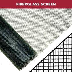 Everbilt 48 po x 84 po noir Moustiquaire en fibre de verre