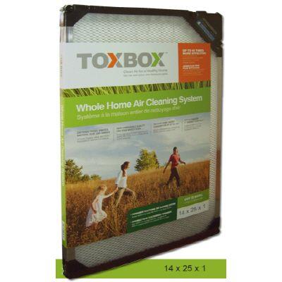 Filtre à air électronique Toxbox 14X25