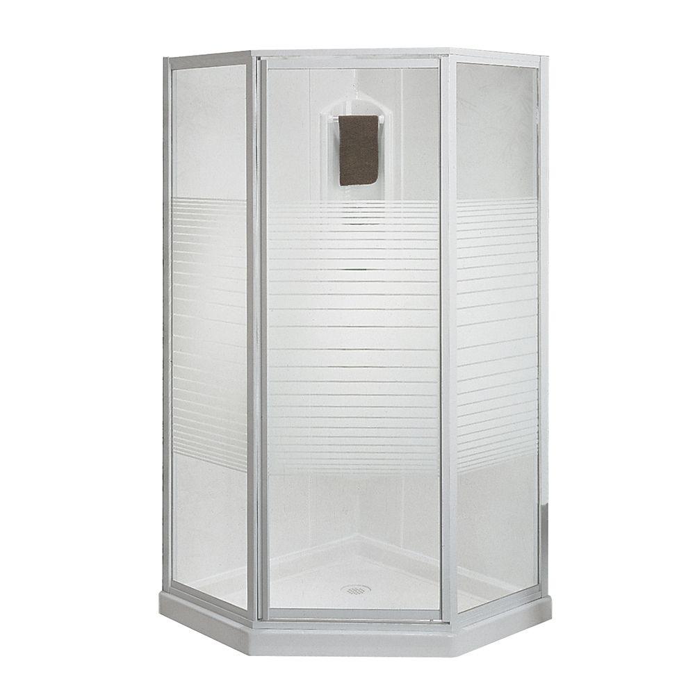 Cosmos 38-Inch  3-Piece Shower Stall