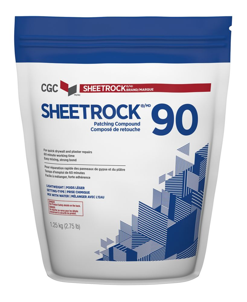 Sheetrock 90 Setting-Type Joint Compound, 1.25 kg Bag