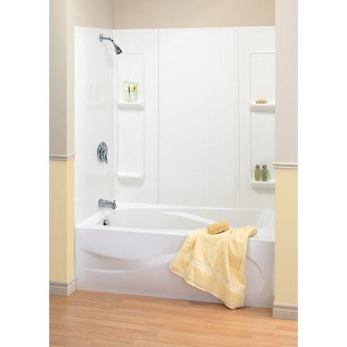 MAAX 59-inch ALABAMA tub wall kit
