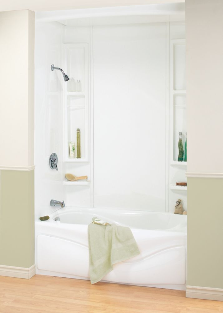 Windsor 3 Piece Bathtub Wall Kit - Bathtub Ideas