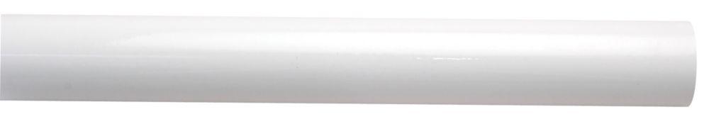 White 18 Ga Main Post 1-7/8 inchX7 foot6 inch