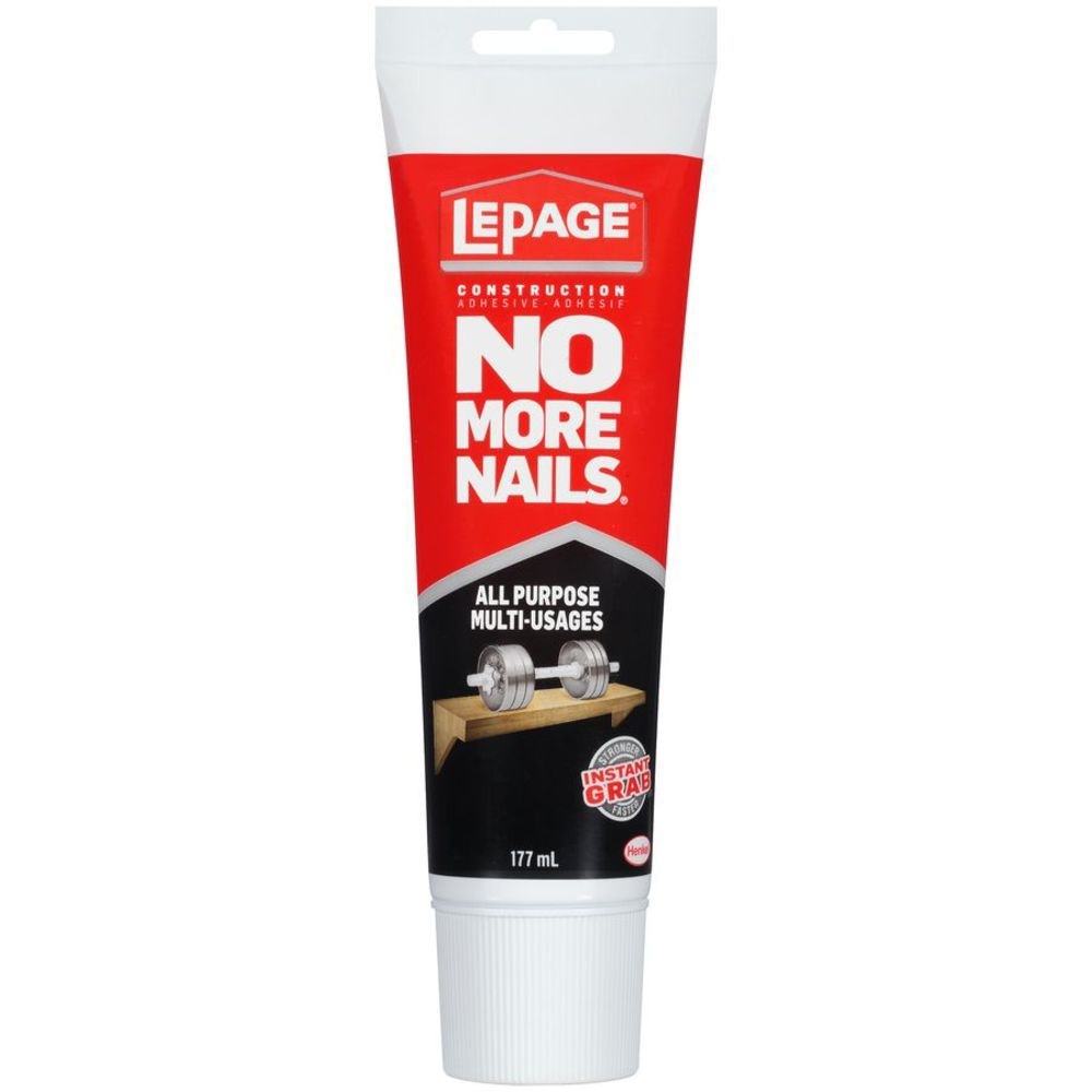 lepage lepage no more nails all purpose clear construction