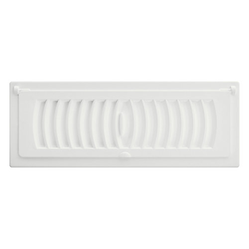 3 inch x 10 inch Pop-Up Register - White