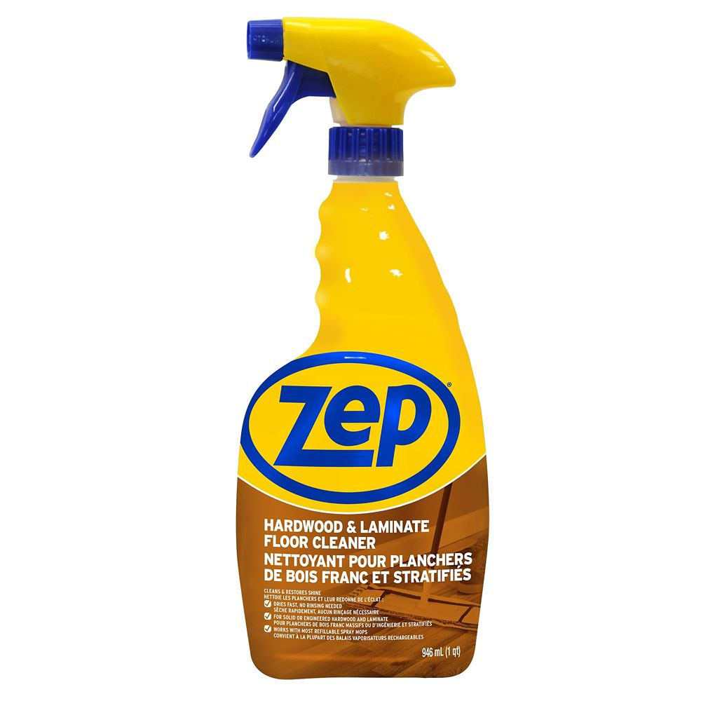 Zep commercial hardwood and laminate floor cleaner 946 for Hardwood floor cleaner