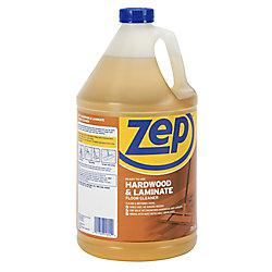 Zep Commercial Produit nettoyant pour planchers en bois dur et laminé – 3,78 L