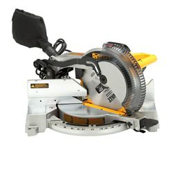 DEWALT 15-Amp Corded 12-inch Heavy-Duty Single-Bevel Compound Miter Saw