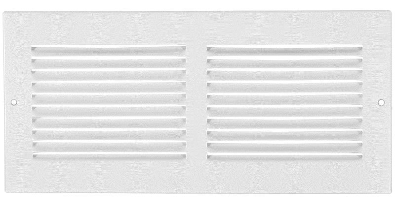 10  x 4  Sidewall Grille - White