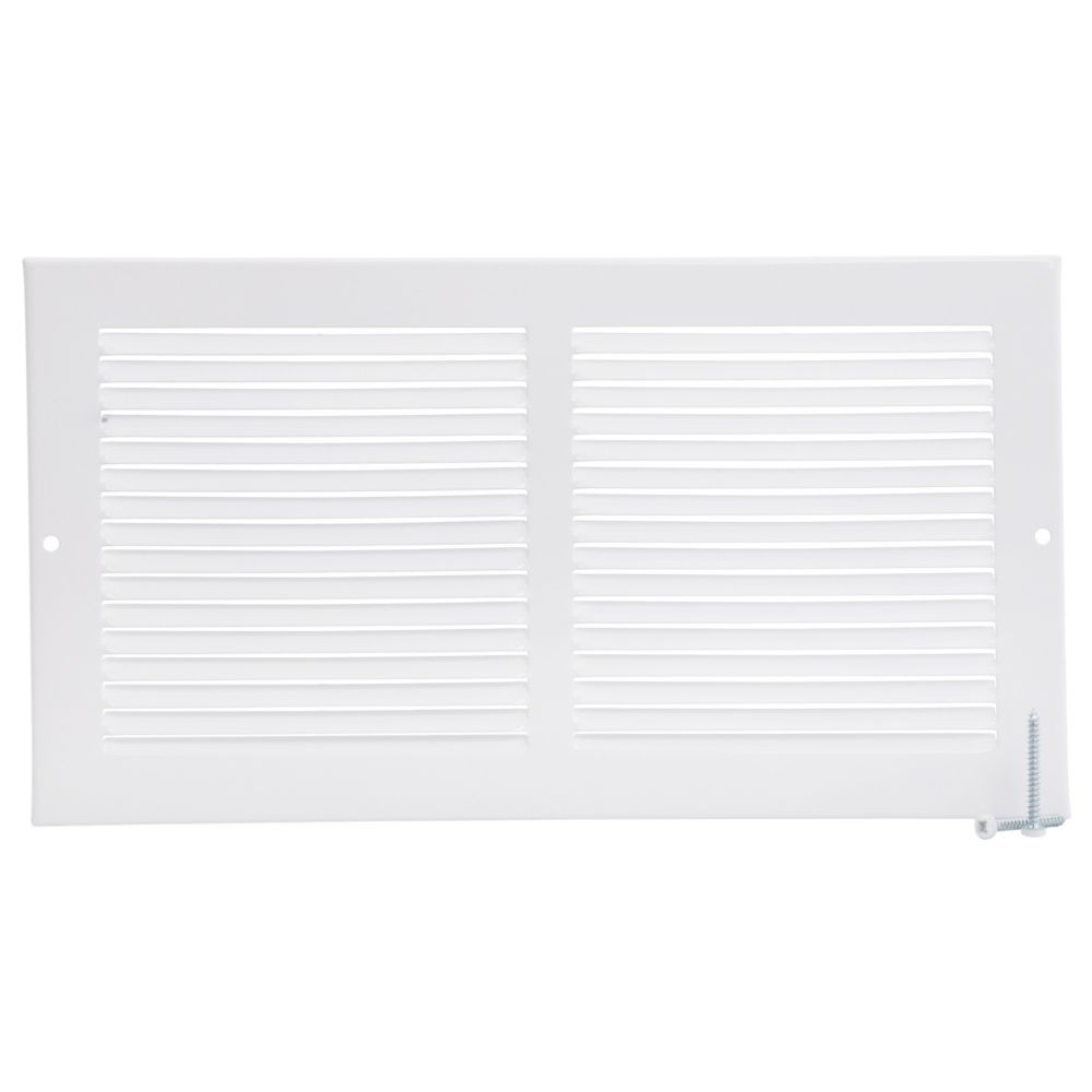 12  x 6  Sidewall Grille - White