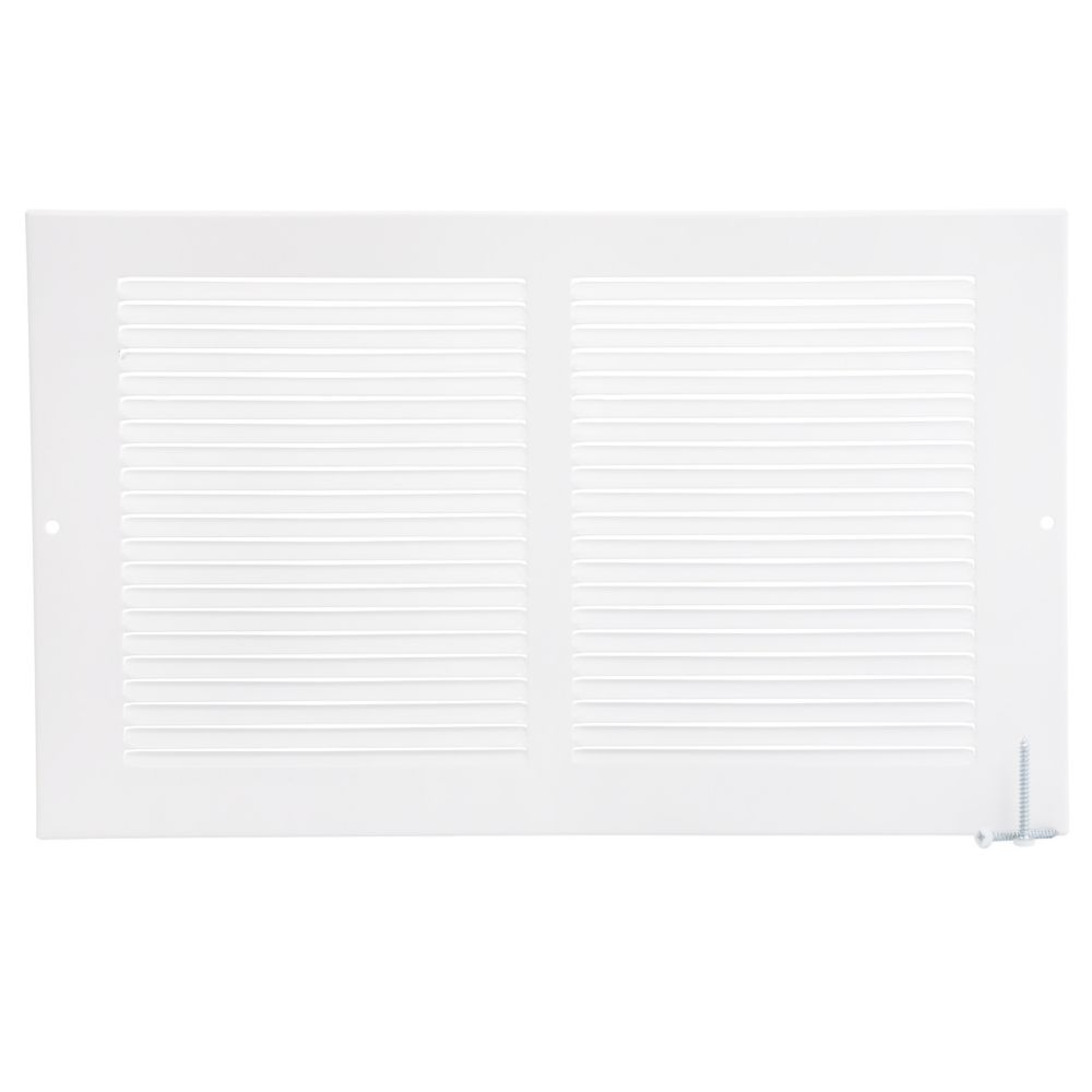 14  x 8  Sidewall Grille - White