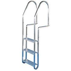 3-Step Aluminum Quick Release Dock Ladder