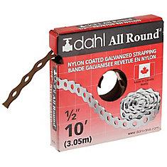 Feuillard All-Round, Nylon enduit, 1/2