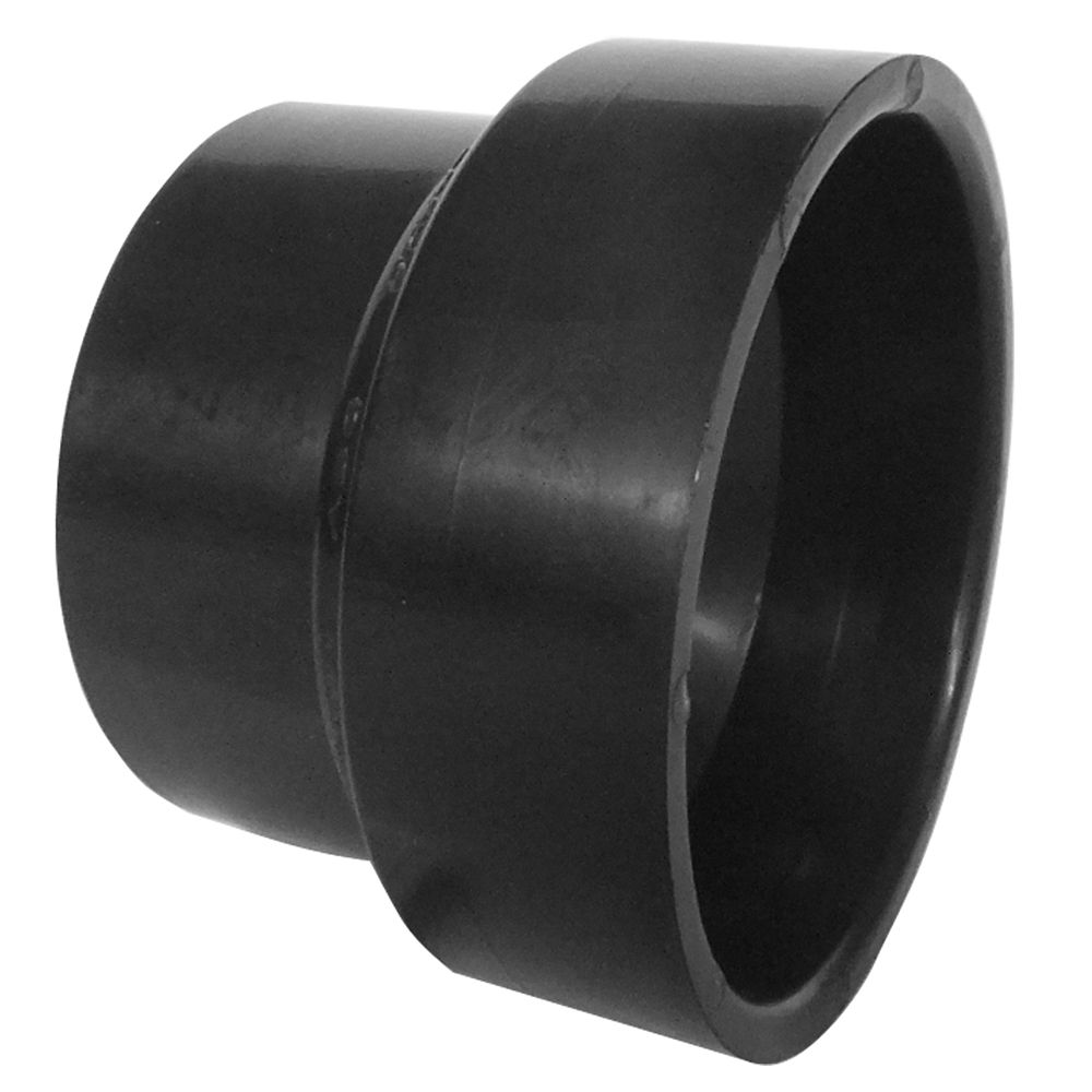 4 x 3 ABS Reducing Coupling All Hub