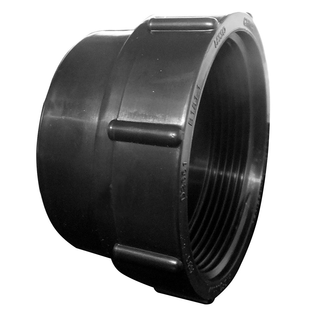3 In. ABS Cleanout Adapter SPIG x FIPT