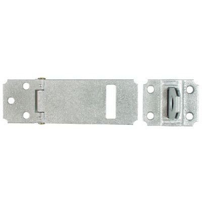 4-1/2 In. Zinc Plated(2c) Adjustable Staple Safety Hasp