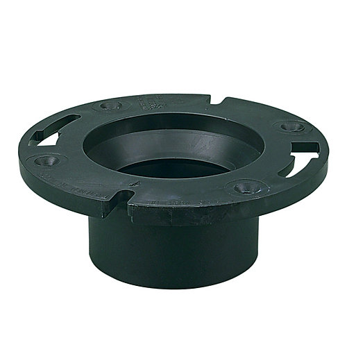 ABS 4X3 Adjustable Closet Flange Hub