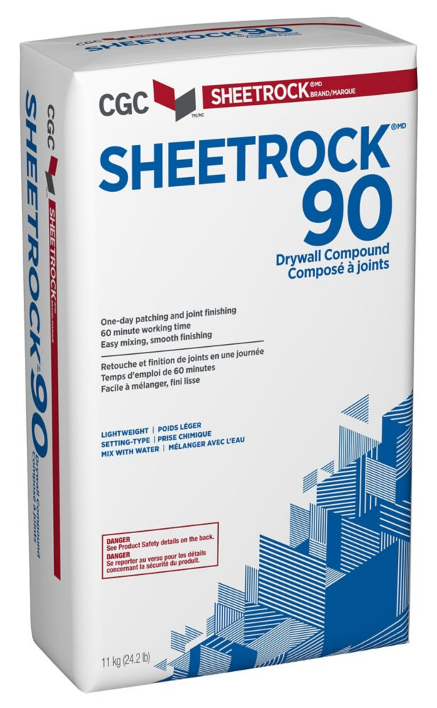 SHEETROCK 90 Setting-Type Joint Compound, 11 kg Bag