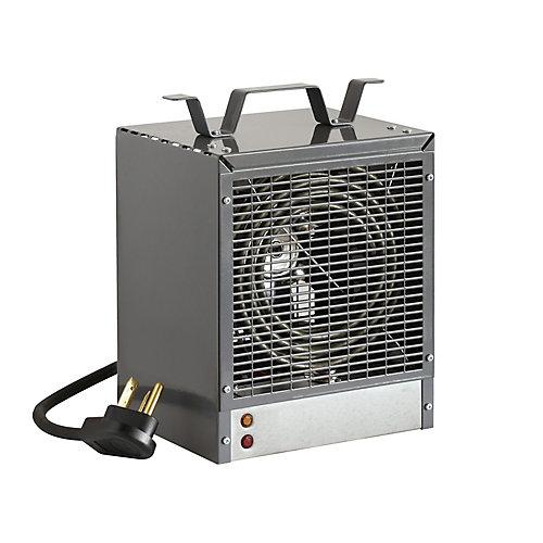 Portable Construction Heater, Grey