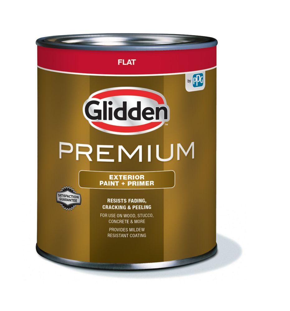 Peinture d'extérieur CIL Premium fini mat - Base accent, 850 mL