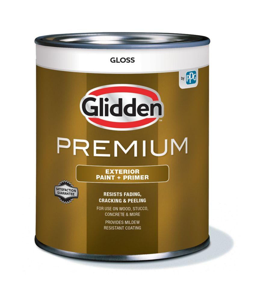 CIL Premium Exterior Gloss White Base 925 mL