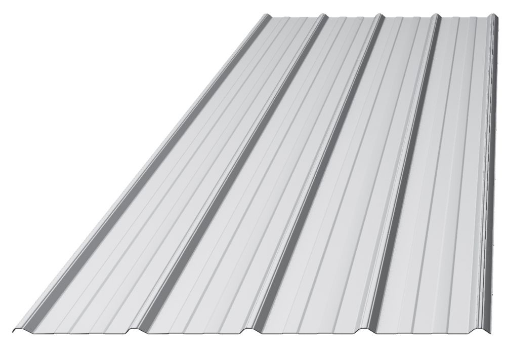 Westman Steel Tough Rib Galvanized 8 ft The Home Depot Canada