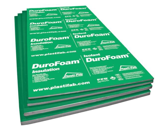 Durofoam EPS Rigid Insulation 96Inch X 48Inch X 34Inch The Home