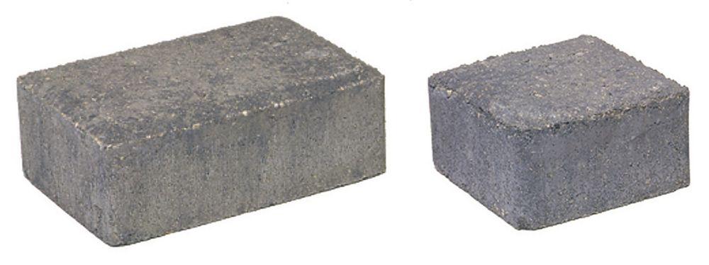 Cobblestone Paver Set - Grey/Charcoal