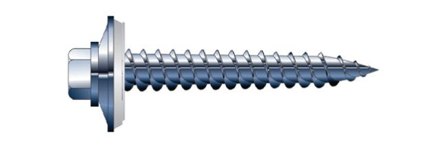 #14 X1.25 inches Js1000 Plated Wood Screws, 100 Piece Packages