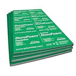 Durofoam EPS Rigid Insulation 96Inch X 48Inch X 1.5Inch