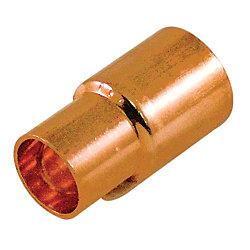 Aqua-Dynamic Fitting Copper Reducer Coupling 3/8-inch x 1/4-inch Copper To Copper