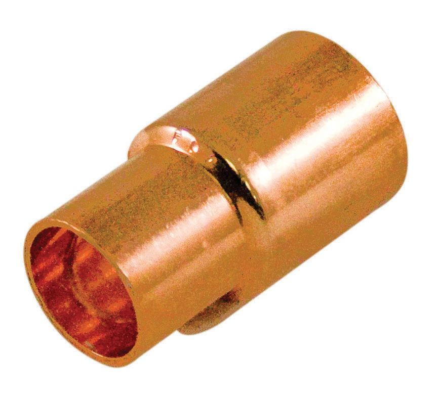 Fitting Copper Reducer Coupling 3/8 Inch x 1/4 Inch Copper To Copper