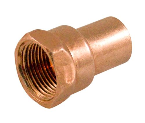 Fitting Copper Female Adapter 3/4 Inch Fitting To Female