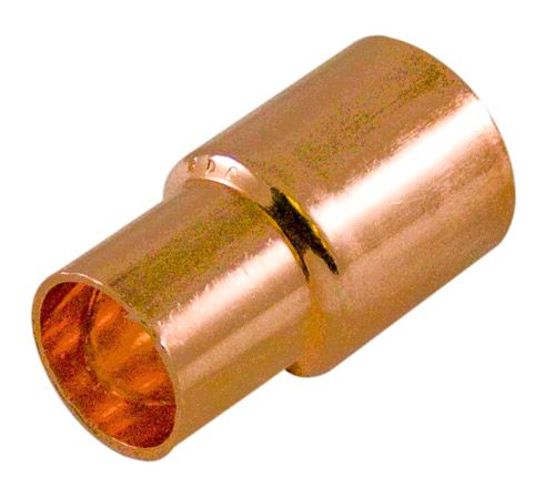 Fitting Copper Bushing 1/2 Inch x 3/8 Inch Fitting To Copper