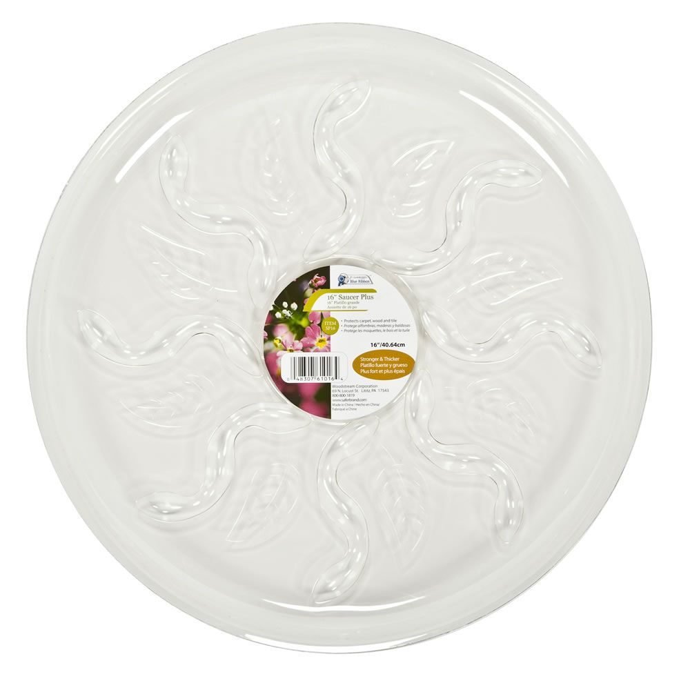 Blooms 16 inch  Saucer Plus
