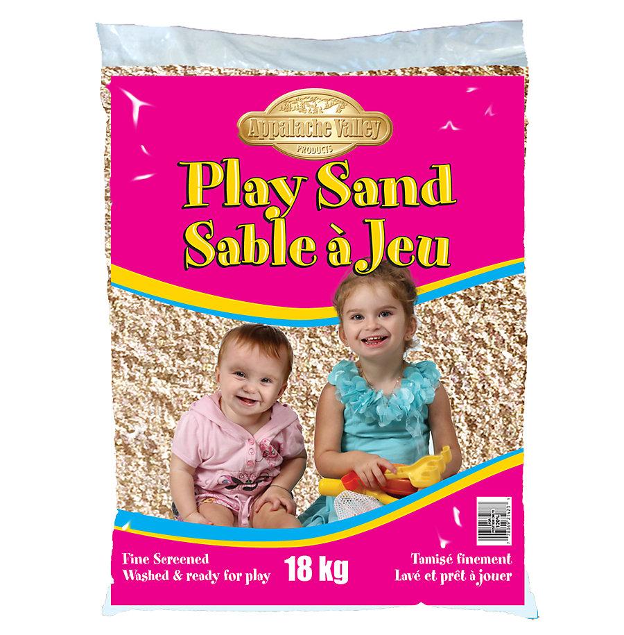 S Boudrias Inc 18kg Washed Play Sand The Home Depot Canada