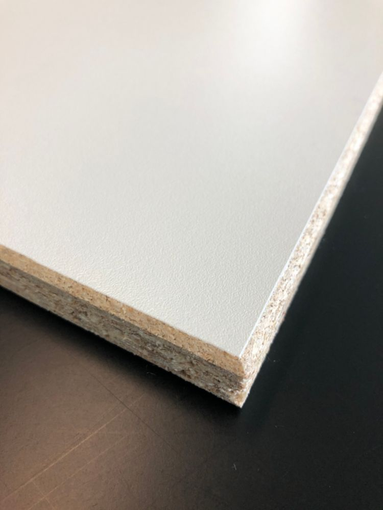 1/2 Inch 4x8 Melamine - White
