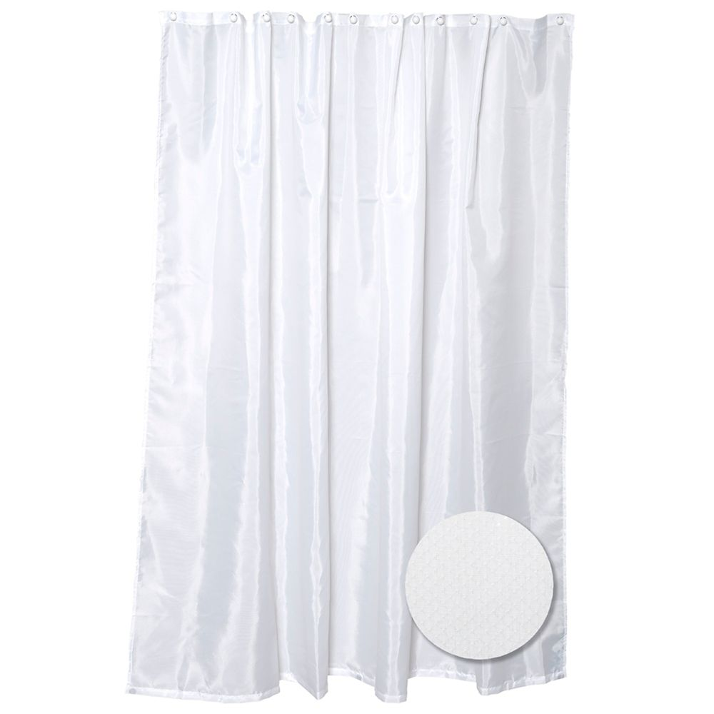 Zenith Products Fabric Shower Liner
