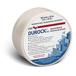 Durock CGC Cement Board Interior Tape, 2 inch  x 50 ft.  roll