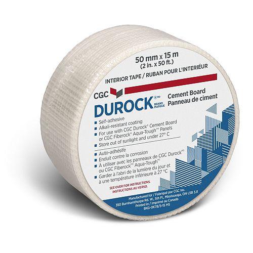 CGC Durock Cement Board Interior Tape, 2 in. x 50 ft. roll