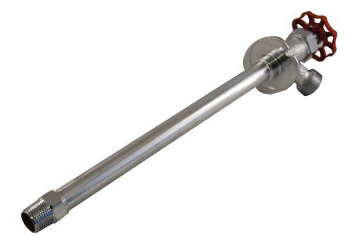 Aqua-Dynamic Non-Freeze Wall Hydrant 1/2 Inch Male x 1/2 Inch Solder 14 Inch