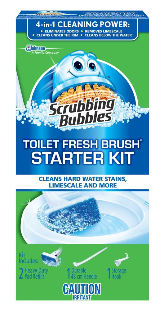 Toilet Fresh Brush Starter Kit