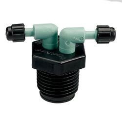Orbit DripMaster 1/2-inch MPT Bi-Manifold II; Cd
