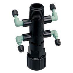 Orbit DripMaster Quad Adapter Manifold; Cd