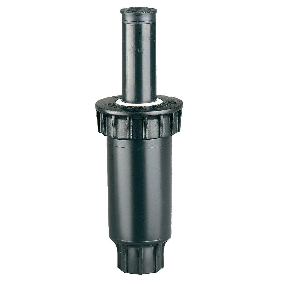 Arroseur escamotable à ressort de 2 po à distribution d'extrémité, Série 100