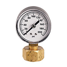 200 lb. Pressure Gauge