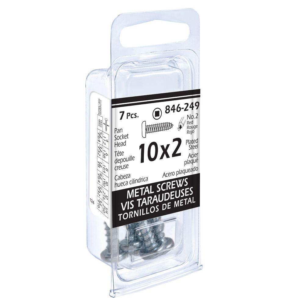 10x2 Pon Soc Metal 7Pc Screw