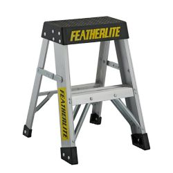 Featherlite Aluminum step ladder 2 Feet  grade IA